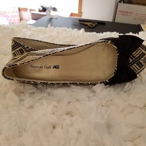 American Eagle Outfitters Shoes - American Eagle Bow Flat Shoes.
